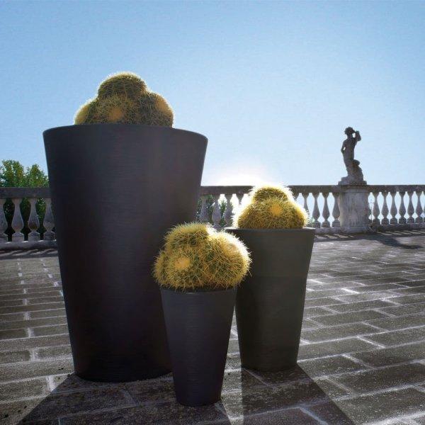 Liscio Siena nowoczesna donica Serralunga1825 Kamień z Dolomitów