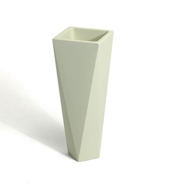 Designerska donica w kształcie diamentu doskonale wpasuje się do Twojego nowoczesnego wnętrza lub ogrodu
