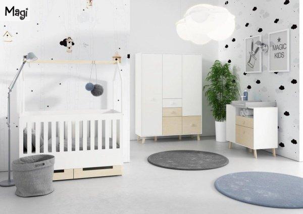 Kolekcja mebli dziecięcych Magi od Timoore w stylu skandynawskim