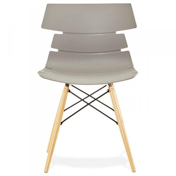Strata nowoczesne krzesło siwe