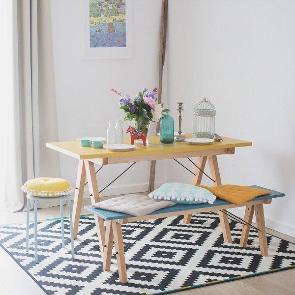 Stół Basic Minko będzie idealnym stołem do jadalni