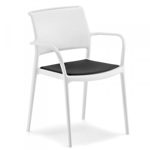 Krzesło ogrodowe Ara 315 z poduszką Pedrali