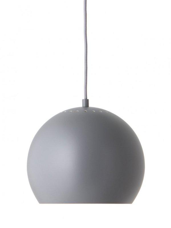 Lampa wisząca BALL Ø25cm Frandsen szary mat