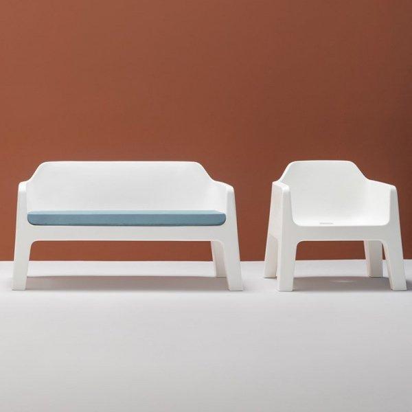 Designerska kanapa z serii Plus Air Pedrali