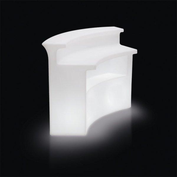 Break Bar to idealny mebel z wbudowanym oświetleniem.o wszechstronnym zastosowaniu zarówno wewnątrz, jak i na zewnątrz.