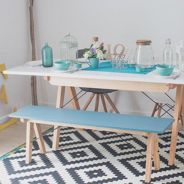 Stylowa ławka Minko Basic do stołu to idealny mebel do jadalni czy przedpokoju