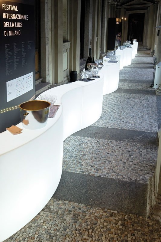 Snack Bar bar zewnętrzny Slide
