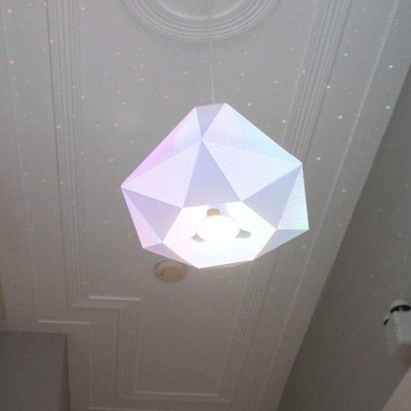 Lampa wisząca Diamond + Żarówka CMYK Dennis Parren