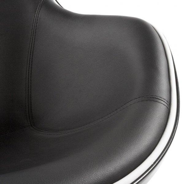 Daytona stylowy fotel obrotowy Czarny