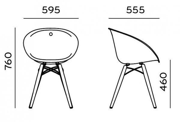 Gliss 905 Krzesło Pedrali