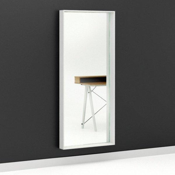 Lustro Woodie Minko może wisiać lub stać w poziomie czy w pionie