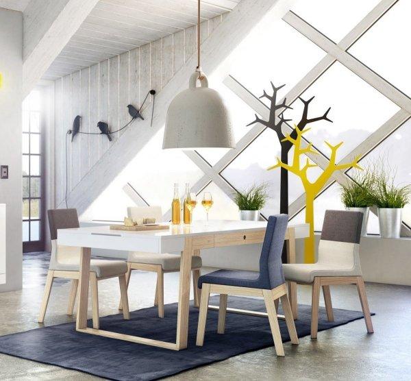 Stół rozkładany Magh w stylu skandynawskim