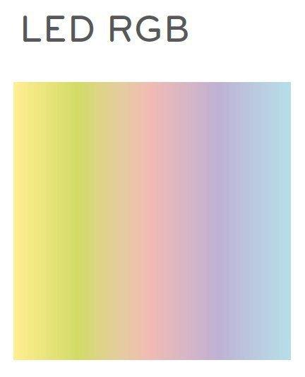 Wow 485L Pufa / Stolik LED RGB Pedrali