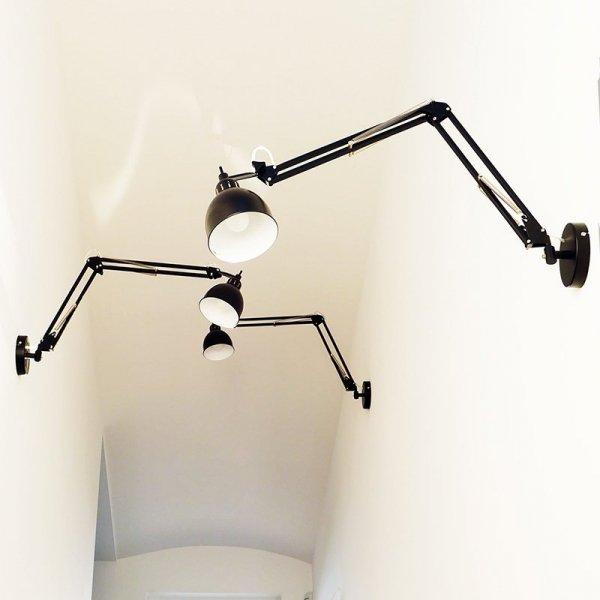 Piękne, industrialne lampy ścienne marki Frandsen