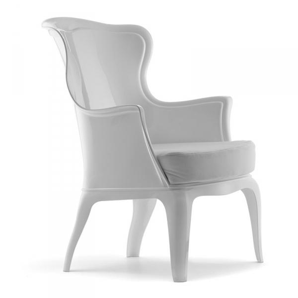 Stylowy fotel do przestrzeni prywatnych i komercyjnych
