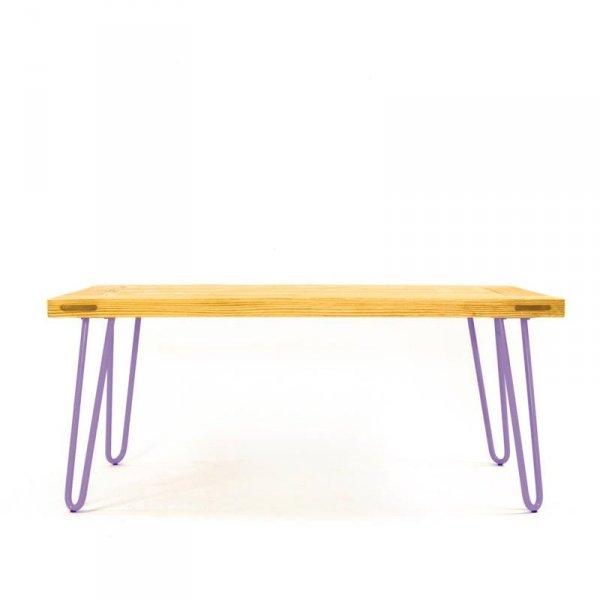 Stolik Kawowy 07 fioletowe nóżki Gie El