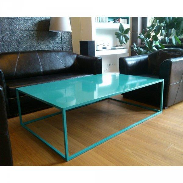 Stylowy stół metalowy do wnętrz w stylu industrialnym Etro