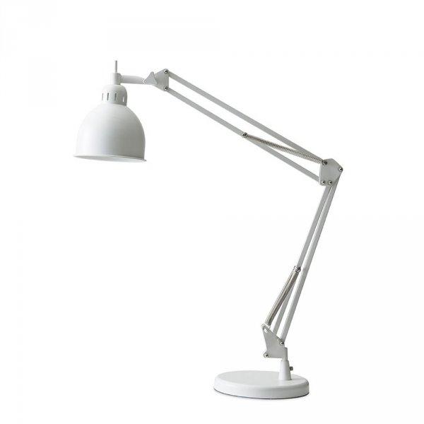 Industrialna lampa stołowa podkresli elegancję wnętrza i doskonale oswietli Twoją przestrzeń pracy