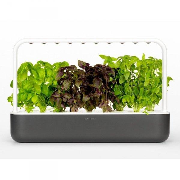 Innowacyjne doniczki na ziołą z lampą LED Smart Garden 9