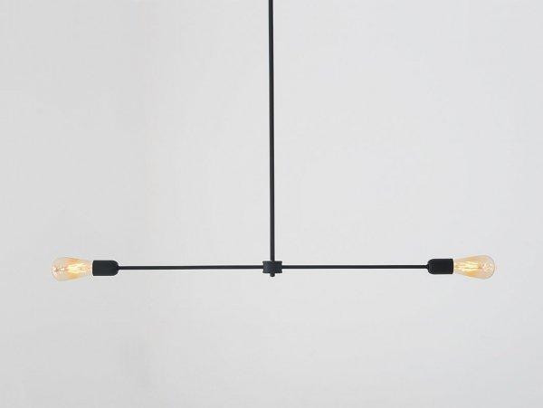 lampa wisząca czarna w stylu industrialnym