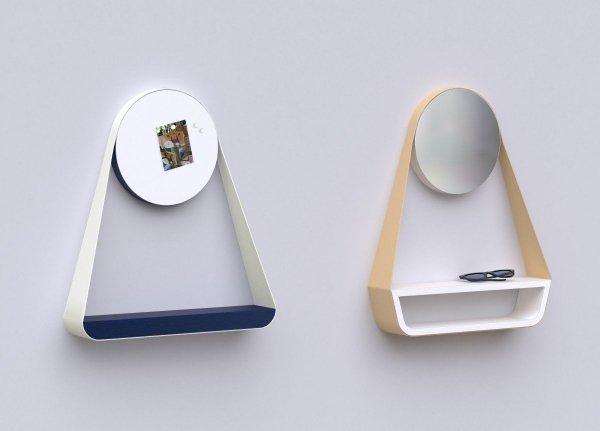 Bienvenue Półka z tablicą magnetyczną OXYO