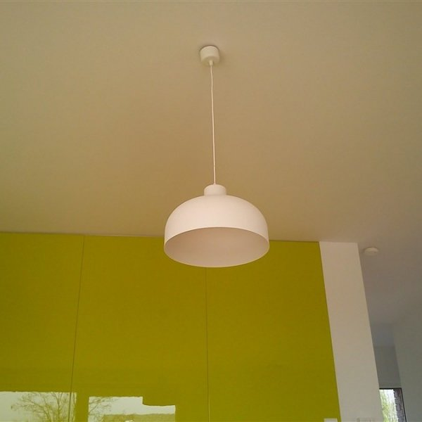 B&B lampa wisząca biała matowa LoftYou