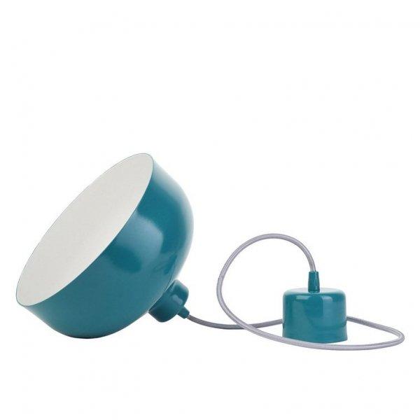 B&B lampa wisząca turkus połysk LoftYou