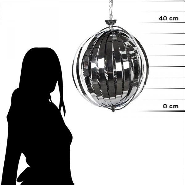 Lampa Emily Chrom