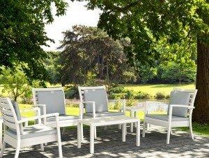 Klasyczne Krzesło Artemis XL Siesta na taras albo jako wyposażenie kawiarni