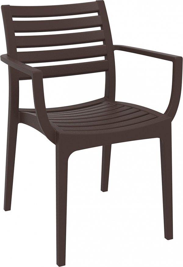 Krzesło Artemis Siesta brązowy