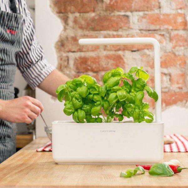 Samopodlewające doniczki z oświetleniem LED Smart Garden