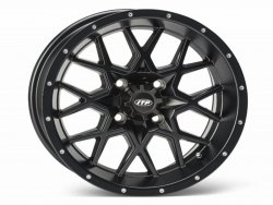 HURRICANE 16x7 4/115 5+2 1621963017B Matte Black