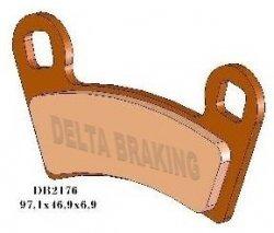 Klocki hamulcowe Delta DB 2176 Polaris RZR 800, Outlaw 450/525