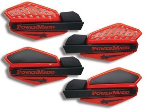 Osłony na dłonie POWER MADD Red/Black handguard
