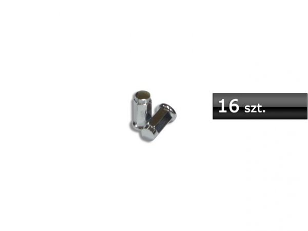 ITP nakrętki 10mm x 1,25 chrom. płaskie LUG NUT 16 sztuk