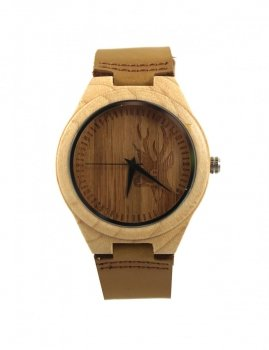 Wooden men`s watch Estilo Sabroso ES05217