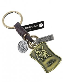 Men`s key ring LEO Estilo Sabroso Es04407