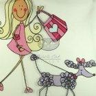 Firany dziecięce pojazdy i zwierzęta tkanina sprzedaż DISCO COL 02