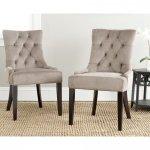 Pikowane krzesło z wygodnym oparciem Krzesło Lazur