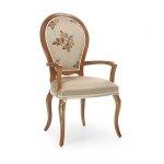 Zgrabne lekkie krzesło w stylu weneckim Maria
