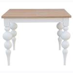 Stół z dębowym blatem Remigiusz