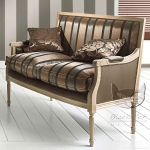 Komfort w stylu Ludwika XVI- Luigi ławka