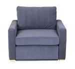 Mała sofa z funkcją spania Rosaly 130