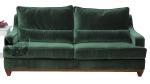 Pluszowa kanapa nierozkładana Lukrecja 175 cm