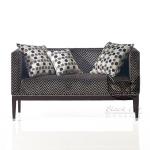 Prosta sofa w stylu art-deco Cube
