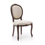 Stylowe krzesło postbarokowe Rousseau