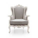 Duży fotel z wysokim oparciem Hedra
