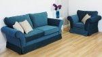 Dwuosobowa sofa siedzisko na sprężynach Federica 210 cm