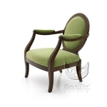 Fotel art - deco z podłokietnikami Diana