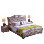 Wysoki zagłówek łóżko Bresso